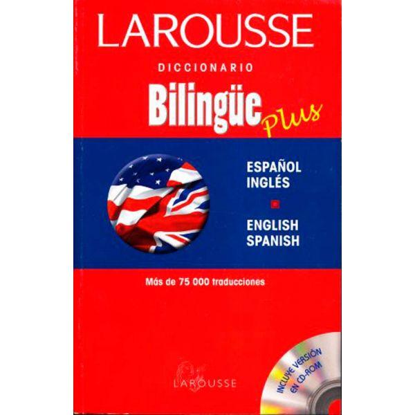 DICCIONARIO BILINGÜE PLUS ESPAÑOL/INGLÉS