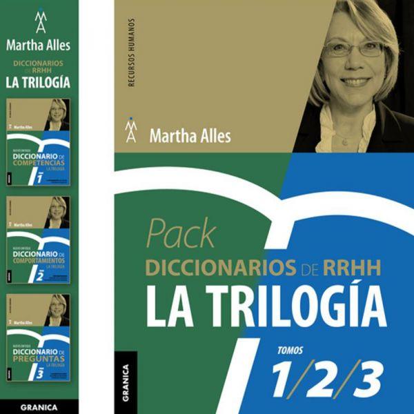 PACK DICCIONARIOS RRHH LA TRILOGIA - TRES VOL