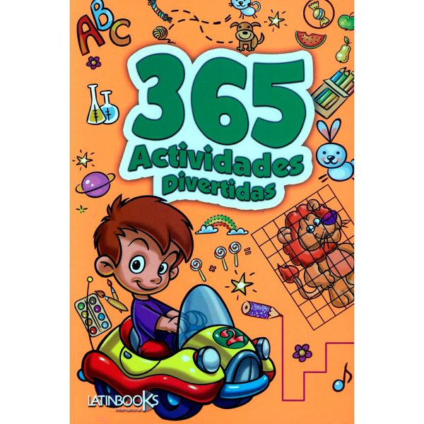 365 ACTIVIDADES DIVERTIDAS PARA COLOREAR NARANJA