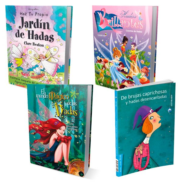 ¿CREES EN HADAS? 4 libros mágicos