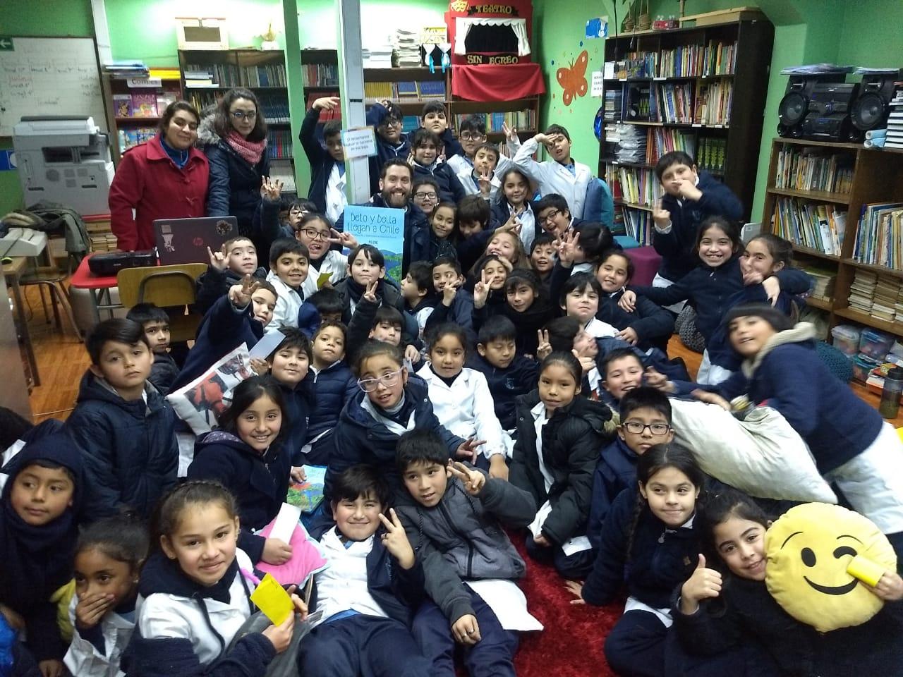 Continúan las visitas de nuestros autores a colegios