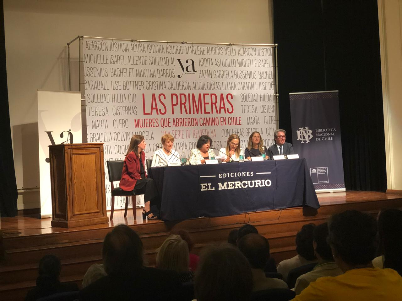 Exitoso lanzamiento del libro Las primeras. Mujeres que abrieron camino en Chile de Ediciones El Mercurio