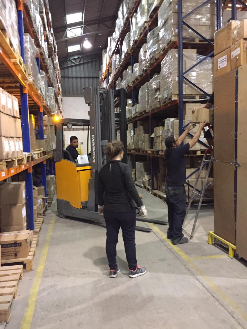 Inventario anual en nuestro Centro de Distribución