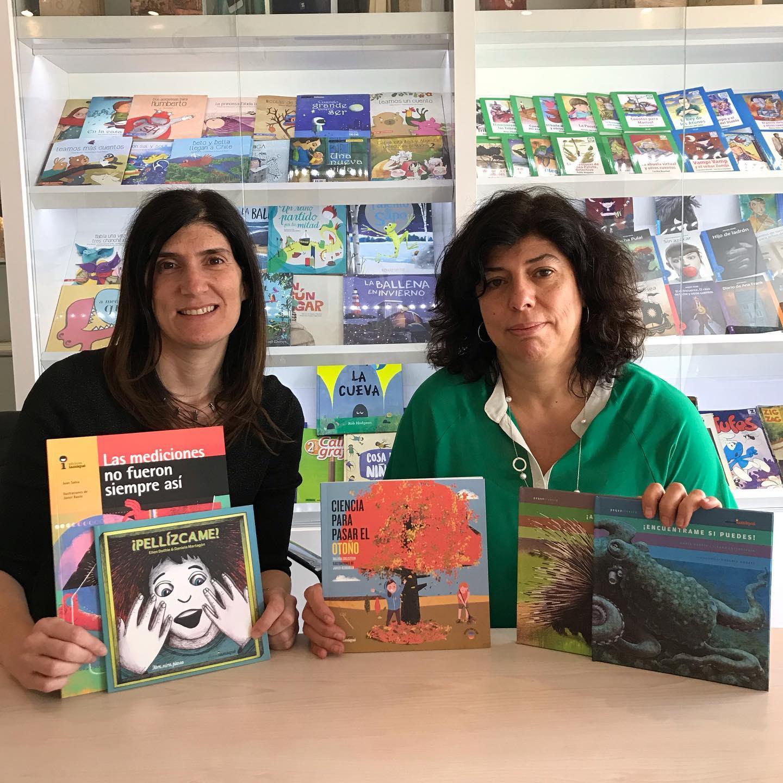 La premiada editorial Iamiqué visitó Santiago