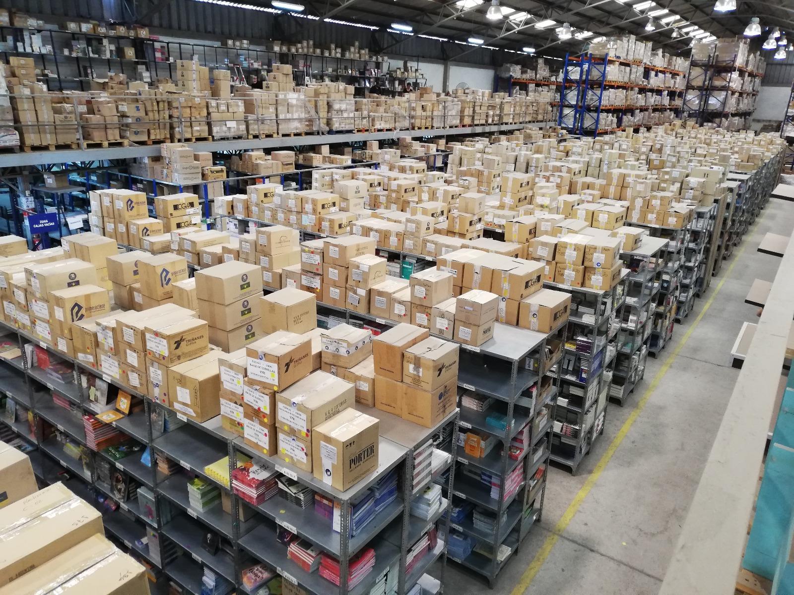Exitoso inventario general en Centro de Distribución