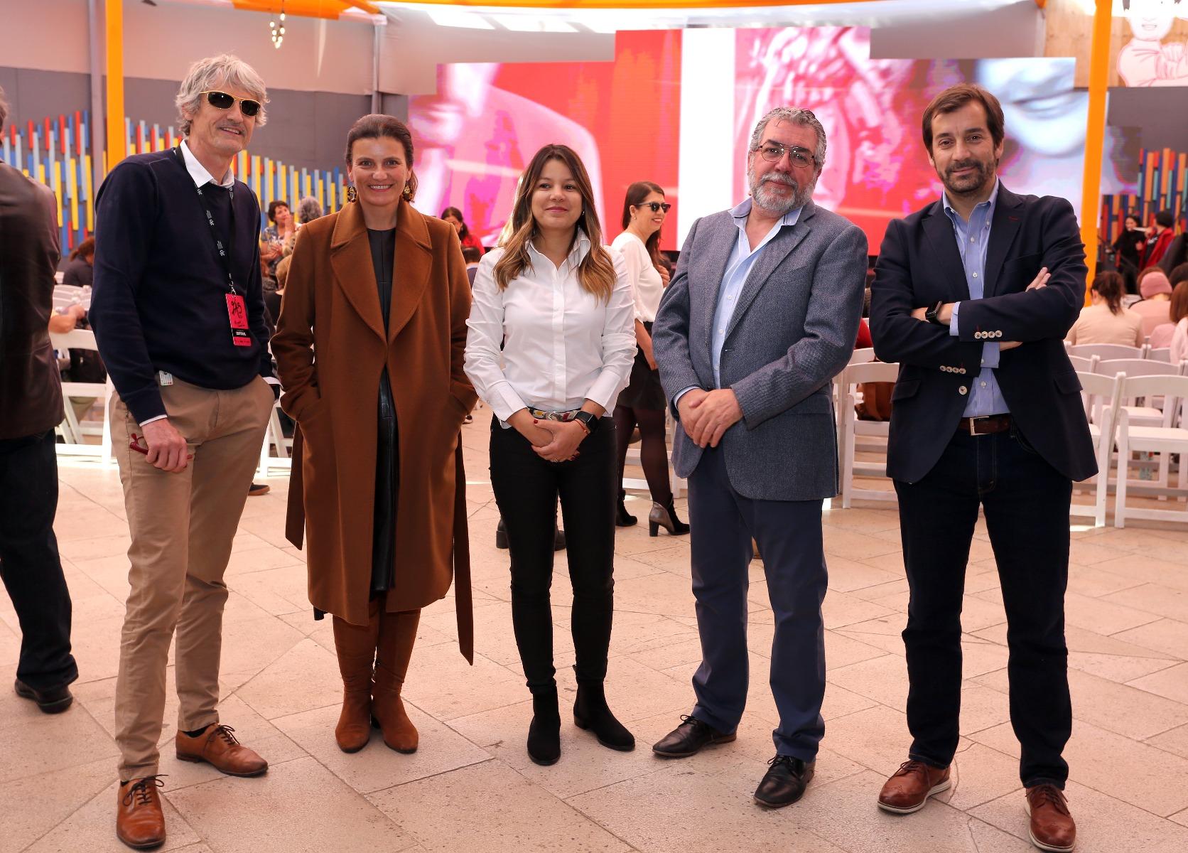 Exitosa participación de Zig-Zag en la segunda versión del Festival de Autores Santiago